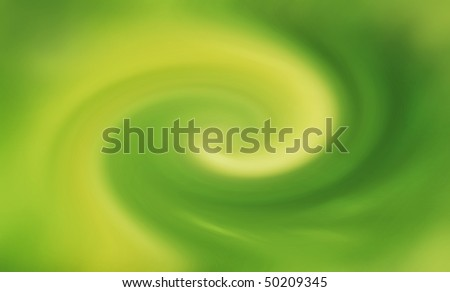 Eco abstract green background - blur rotation, twirl. - stock photo