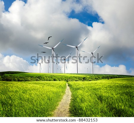 Eco direct - stock photo