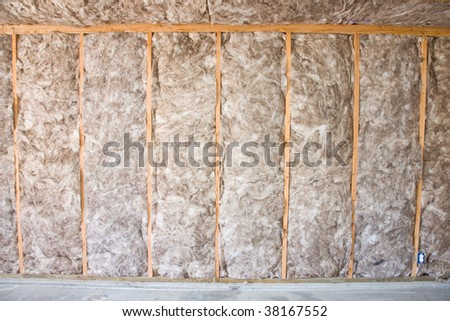 Eco-friendly insulation in a home remodel project.