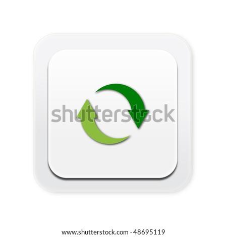 Eco friendly light switch renewable - stock photo