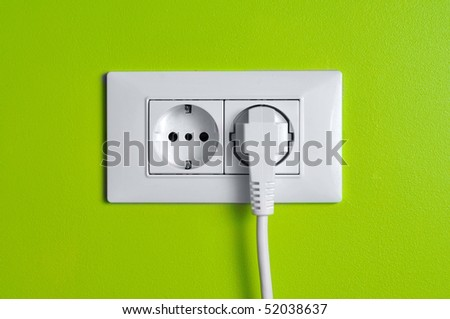 Eco(green) power - stock photo