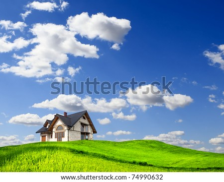 Eco Land - stock photo