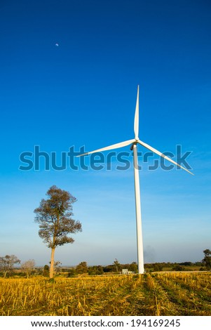eco power. wind power generator in thailand
