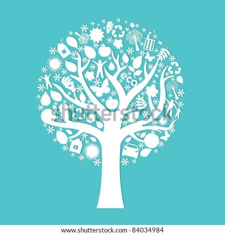 Eco Tree - stock photo