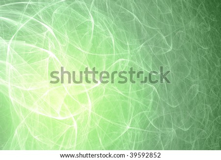 Ecological background. Abstract design. Green and white