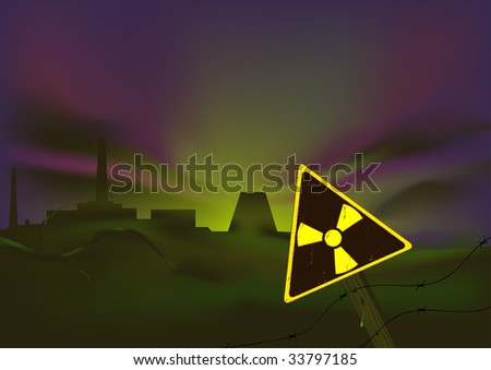Ecological catastrophe - stock photo