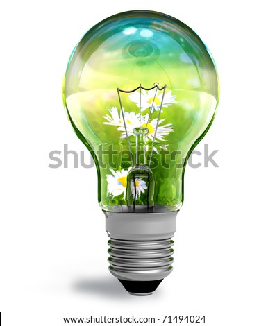 Ecological concept - stock photo