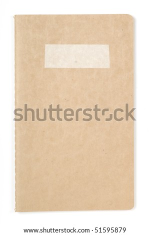 ecological note pad - stock photo