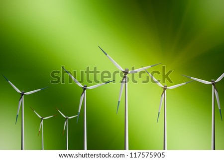 Ecological Planet - stock photo