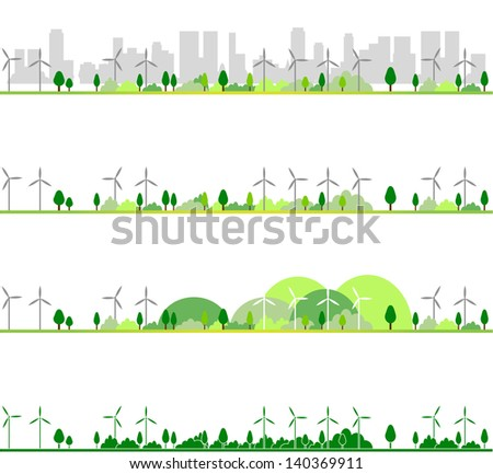 ecology - stock photo
