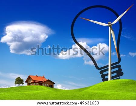 Ecology - stock photo
