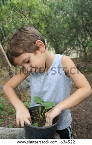 ecology awareness - stock photo