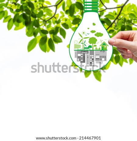 Ecology concepts - stock photo