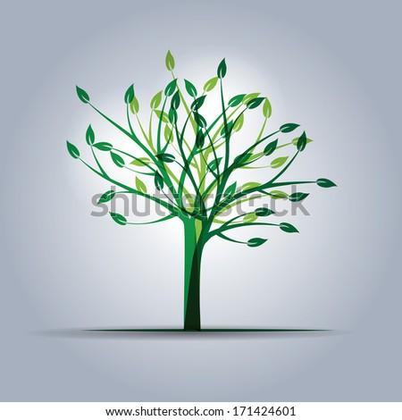 ecology element - stock photo