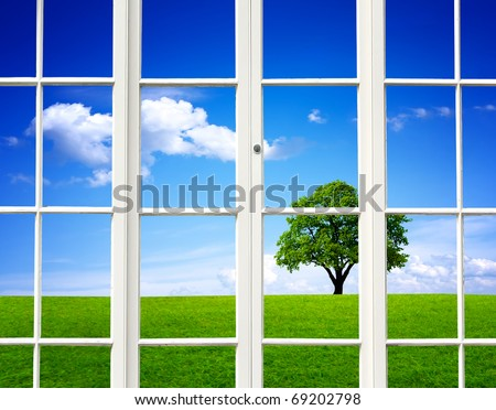 Ecology View - stock photo
