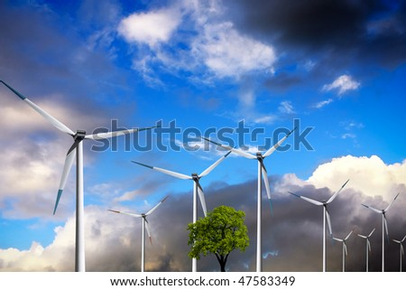 Ecology, Wind turbines
