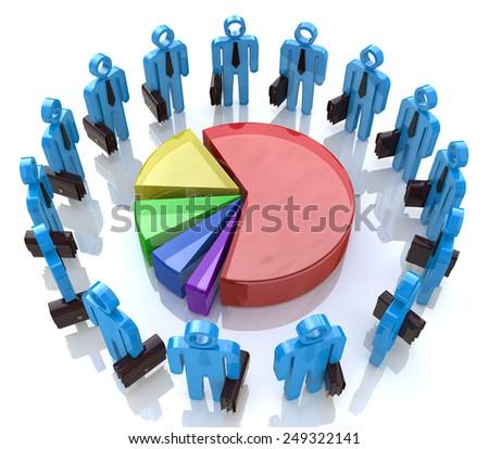 Economic business meeting  - stock photo
