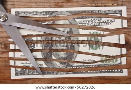 economic crisis - stock photo