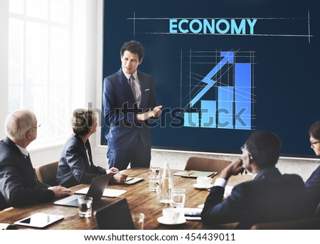 Economy Business Growth Graph Graphic Concept