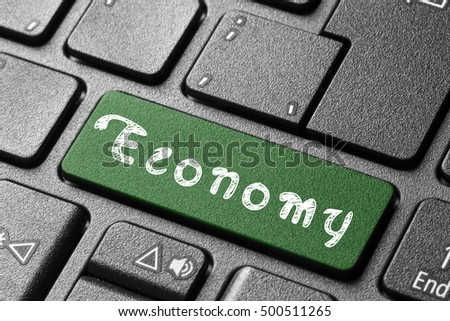 Economy button on keyboard/Economy button on keyboard