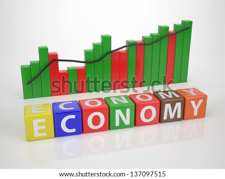Economy - Series Words out of Letter Dices