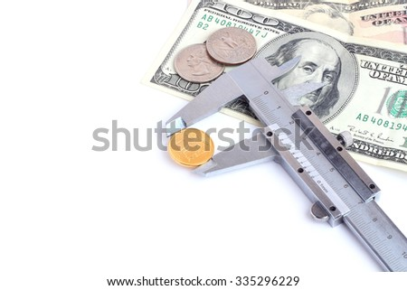 economy weak ruble worlds strongest currency Dollar - stock photo