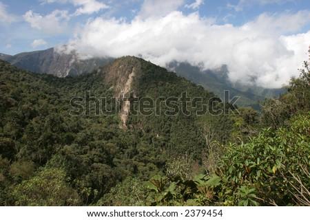 Ecuador Highlands - stock photo