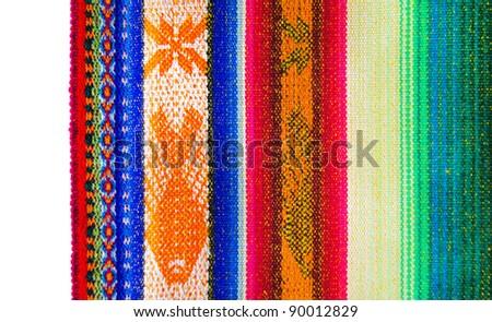 Ecuador pattern - stock photo