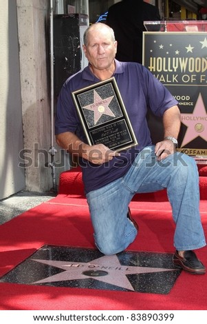 Ed O'Neill at the Ed O'Neill Hollywood Walk Of Fame Induction Ceremony, Hollywood, CA. 08-30-11 - stock photo