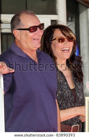 Ed O'Neill, Katy Segal at the Ed O'Neill Hollywood Walk Of Fame Induction Ceremony, Hollywood, CA. 08-30-11 - stock photo