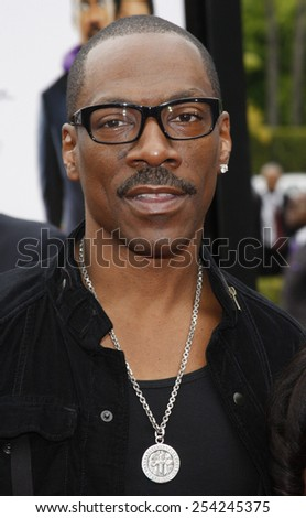 "Eddie Murphy at the Los Angeles Premiere of ""Imagine That"" held at the Paramount Studios Lot in Hollywood, California, United States on June 6, 2009.  - stock photo"