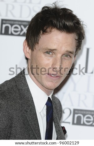 Eddie Redmayne arriving for the Elle Style Awards 2012 at the Savoy Hotel, London. 13/02/2012 Picture by: Steve Vas / Featureflash