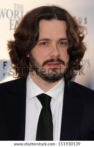 "Edgar Wright at ""The World's End"" Los Angeles Premiere, Cinerama Dome, Hollywood, CA 08-21-13"