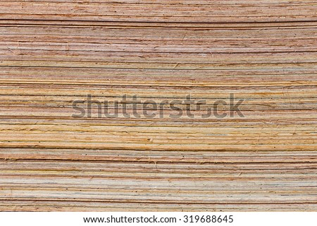 edge of plywood background texture. - stock photo