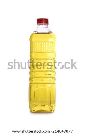 edible oil - stock photo