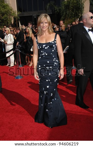 Edie Falco at the 59th Primetime Emmy Awards at the Shrine Auditorium. September 16, 2007 Los Angeles, CA Picture: Paul Smith / Featureflash