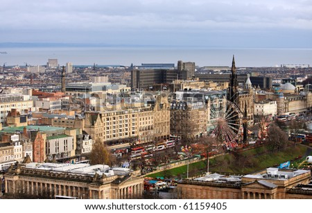 Edinburgh - stock photo