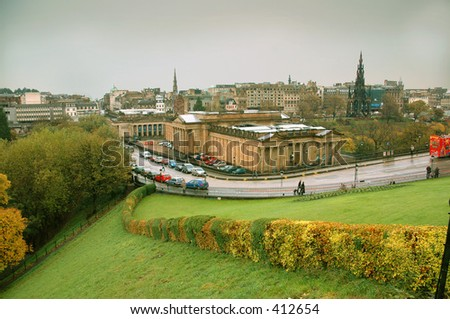 Edinburgh Museum - stock photo