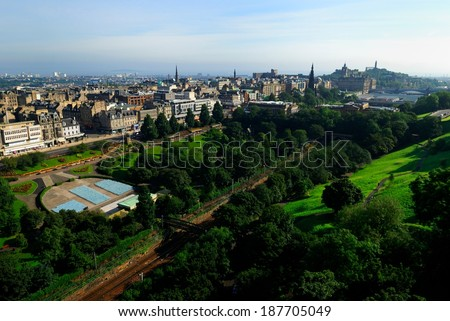 Edinburgh, Scotland - stock photo
