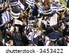 Editorial,Australian rules football Geelong cheer squad - stock photo