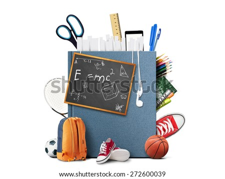 Education and book - stock photo