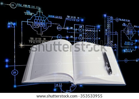 Education engineering technology. - stock photo