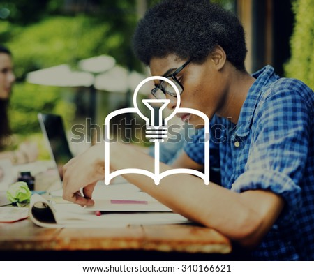 Education Knowledge Student Library Class Research Concept - stock photo