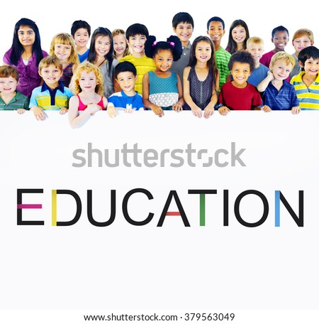 Education Knowledge Studying Learning University Concept - stock photo