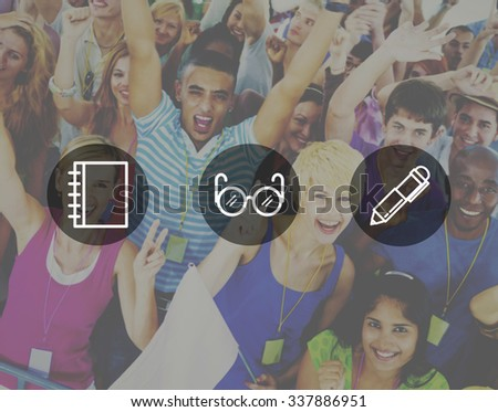 Education Knowledge Wisdom School Academic Concept - stock photo
