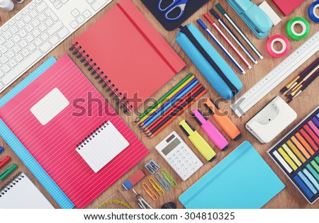 Education or school background - stock photo