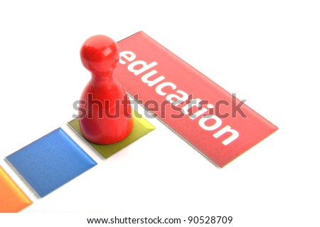 education word showing school learn or university concept - stock photo
