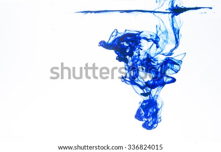 effect color drop water - stock photo