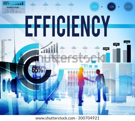 Efficiency Excellence Ability Accomplishment Success Concept - stock photo