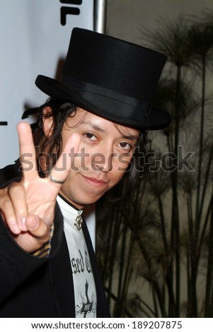 Efren Ramirez at Birthday Bash For SHANE WEST AND ERIC PODWALL, home of Eric Podwall, Los Angeles, CA, June 18, 2005